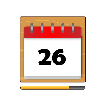 days: The Twenty-six days on the calendar
