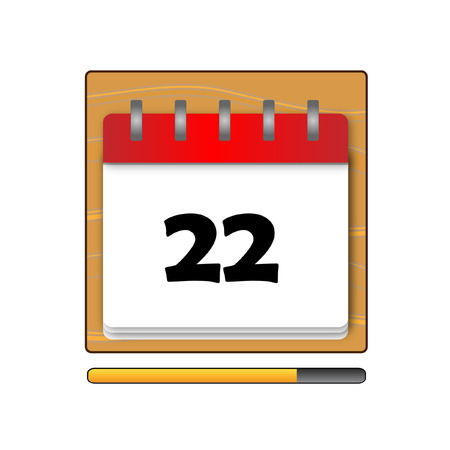 days: The Twenty-two days on the calendar