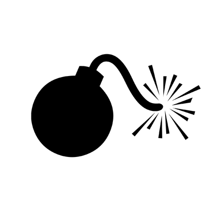 bomb: Cartoon Bomb vector