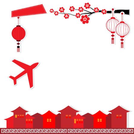 culture: China background travel culture