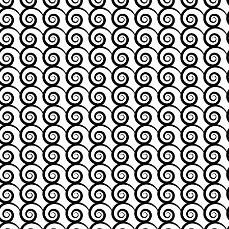 Design seamless spiral diagonal background Illustration