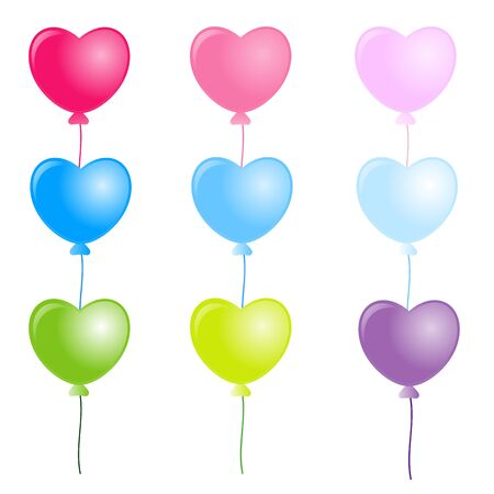 cute heart  balloon