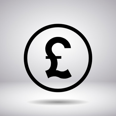 british pound: British Pound sign in a circle