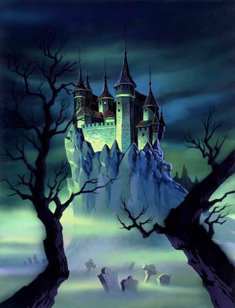 A mystery castle on top of a cliff. Stock Photo - 202579