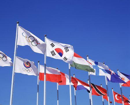 National Flags 版權商用圖片