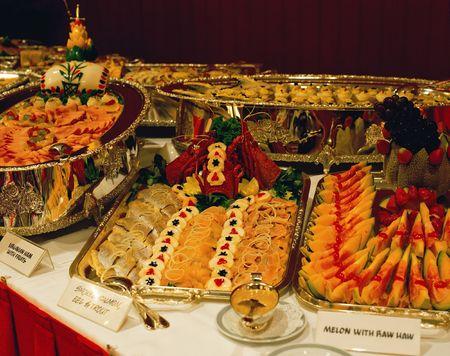 Buffet Restaurant 版權商用圖片