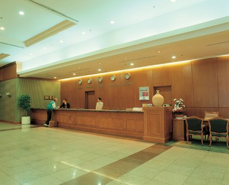 front desk: Hotel Lobby