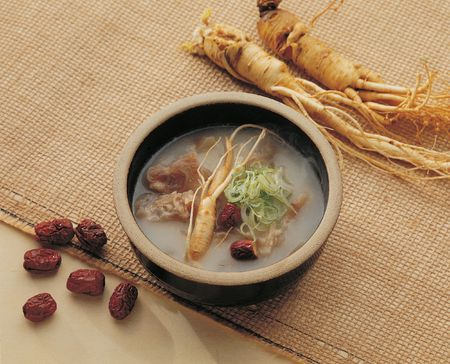 ginseng: Korean Food