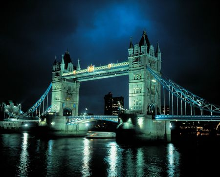 London Bridge at Night Stock Photo - 366185