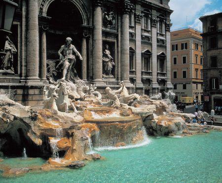 Standbeeld Fountain