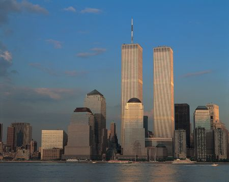Twin Towers Stockfoto