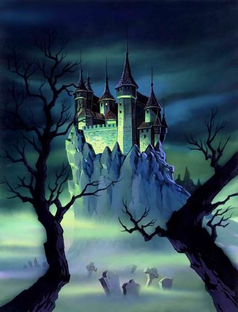 thriller: Castle at Night