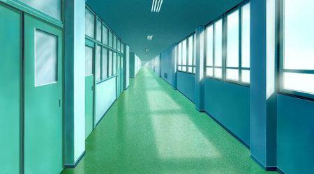 couloirs: Entr�e Banque d'images