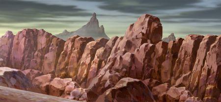 rugged: Rugged Mountain Wall