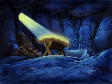 Haystack in Cave Stock fotó - 377239
