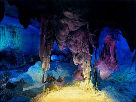 Inside Cave Фото со стока