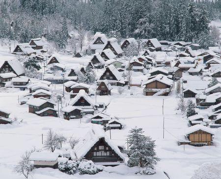 Snow on House Stock Photo - 382882