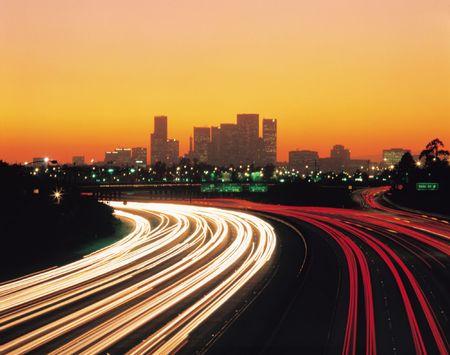 Cars and Buildings 版權商用圖片