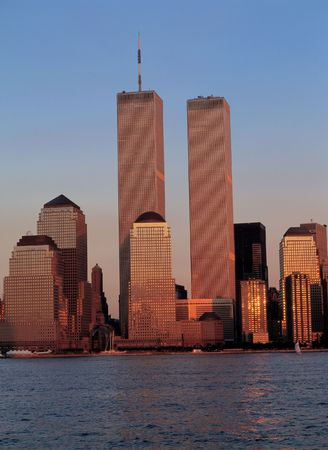 Twin Towers Stock Photo - 397677