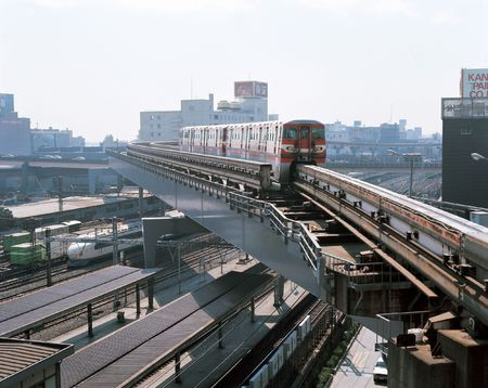 monorail: Monorail in City