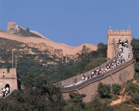 Great Wall of China 版權商用圖片 - 397774