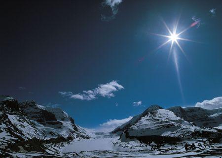 Rugged Snow Mountain photo
