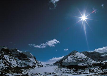 Rugged Mountain Snow Stock Photo - 405994
