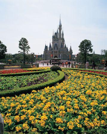 theme park: Flower Garden in Theme Park