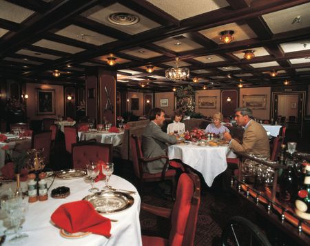 Restaurant Indoors Stock Photo