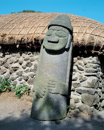 Traditional Stone Statue