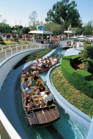 Theme Park Boat