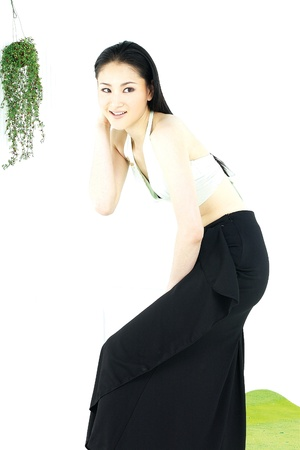 mild: Portrait of a Korean Woman