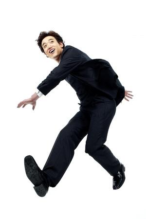 gesticulating: Korean Businessman Gesticulating