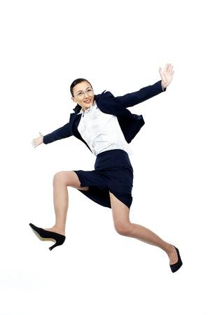 gesticulating: Korean Businesswoman Gesticulating