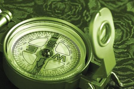 Compass Close Up Stock Photo