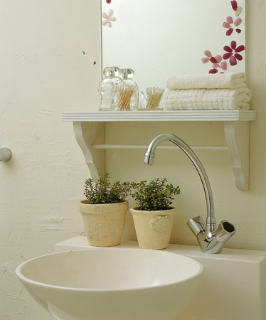 sink: Home Interior Stock Photo