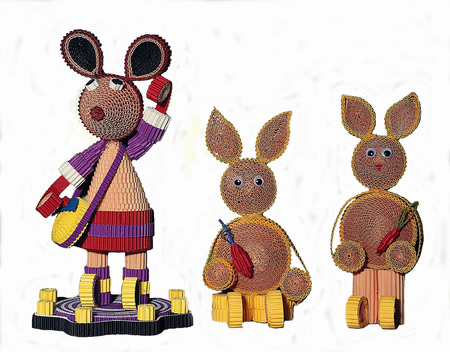Art and Craft Equipment Stock Photo