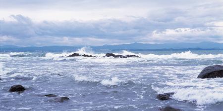 ridge of wave: Scenics Stock Photo