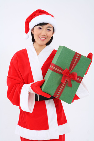 Christmas Costume Stock Photo