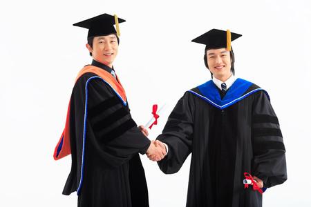 University Graduation II Stock Photo