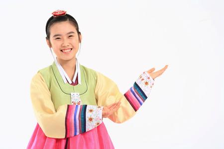Kids in Korean Dress