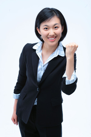 Woman in Business IV Stock Photo