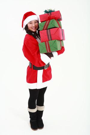 Christmas Costume Stock Photo