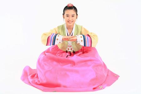 키즈 한국어 드레스