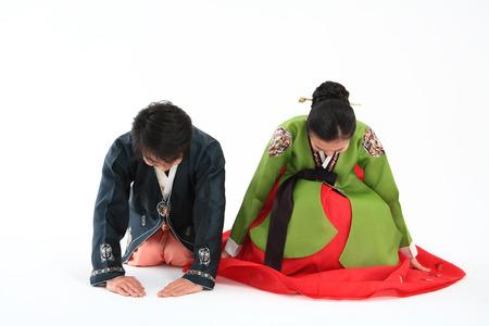 한국인 부부의 커플 I