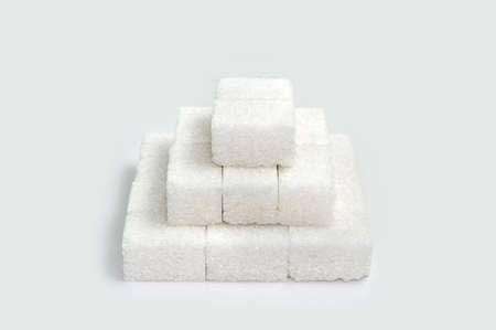 Pyramid of sugar blocks Stock Photo - 565359