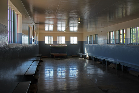 Nelson Mandel's Prison Wing, Robben Island, Cape Town, South Africa