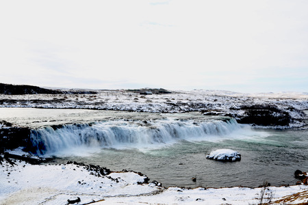 Faxifoss (Waterfall), Golden Circle, Iceland Stockfoto