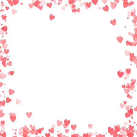 Valentines day design with hearts background Stock Photo