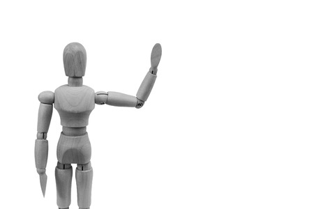 proportions of man: human wooden figure concepts